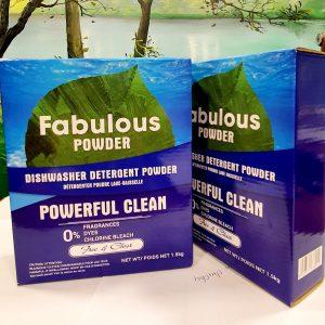 Bột rửa bát hữu cơ Fabulous Powder