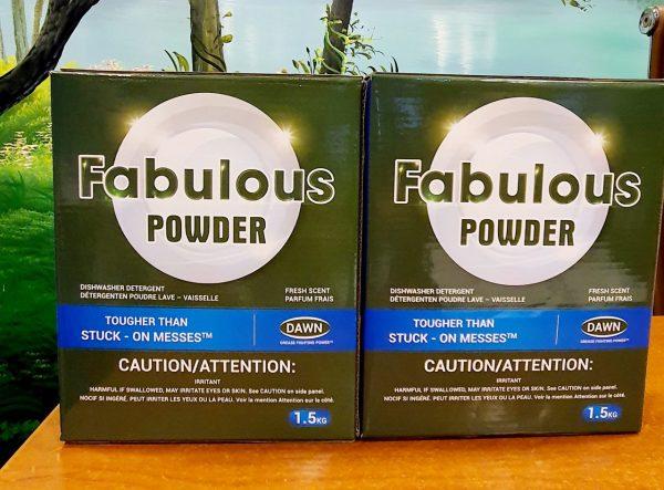 Bột rửa bát fabulous powder