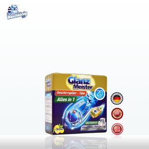Viên rửa bát Glanz Meister Đức 20 viên